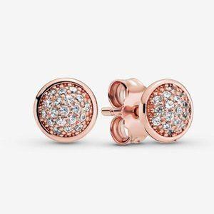 🥂Pandora Pavé Stud Earrings